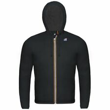 KWAY Uomo Giubbino K-WAY JACQUES NYLON JERSEY K007A10 COL.K02 BLACK ESTATE 2018
