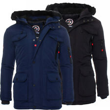 Geographical Norway foderato giacca invernale Parka Uomo S-XXXL NUOVO