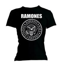 RAMONES' SEAL 'womens fitted T-SHIRT - NUOVO E ORIGINALE