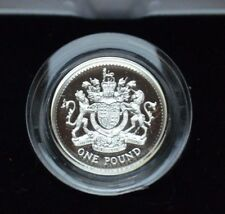 Royal Mail UK Silver Proof Piedfort One pound Coins- choose year COA