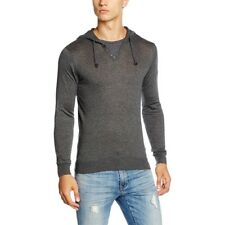 Pull à Capuche Primo Gris Homme Teddy Smith