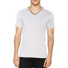 Tee Shirt Tager Gris Homme Teddy Smith