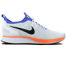 Nike Air Zoom Mariah Flyknit Racer Baskets Chaussures pour hommes Blanc
