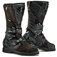 SIDI ADVENTURE 2 GORE-TEX MOTO Marrone/NERO OFF ROAD VERDE LANE stivali