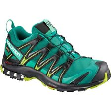SALOMON XA PRO 3D GTX W SCARPA DONNA TRAIL RUNNING (GORE TEX) VERDE DEEP LAKE