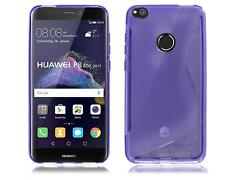 HUAWEI P8 LITE 2017 (PRA-LA1) Black Gel Silicone Rubber Phone Case Cover