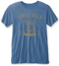 RAMONES' Forest Hills ' (Blue) Burnout T-shirt - NUOVO E ORIGINALE