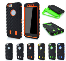 Heavy Duty Tyre Rugged Shock Proof Builder Case Cover For iPhone X 8 7 6s Plus
