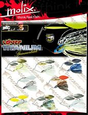 Spinnerbait finesse Molix lover Titanium 14 gr - 1/2oz. Mike Iaconelli