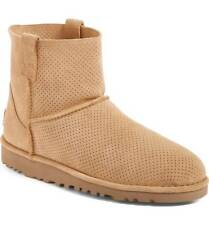 UGG Suede Classic Unlined Mini Perforated Boot 36 38 39 BRAND NEW BOXED GENUINE