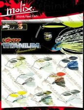 Spinnerbait finesse Molix lover Titanio 14 gr - 1/2oz. Mike Iaconelli