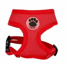 Paw LOVE Rubber Adjustable Soft Breathable Dog Cat Control dog Harness Nylon Mes