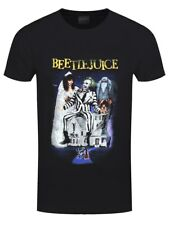 Beetlejuice Film Men's Black T-shirt