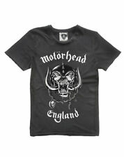 Motorhead 'ENGLAND' T-SHIRT - Amplified Clothing - NUOVO E ORIGINALE