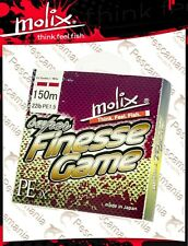 tressé PE Molix Super Finesse game galon multifibre mt 150