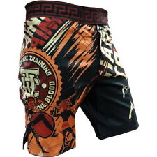 Shorts Hardcore Training Sparta Black Hombre Pantalones Cortos MMA Fitness