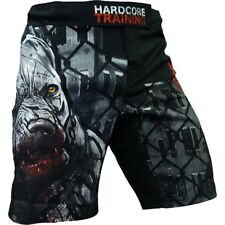 Shorts Hardcore Training Pitbull City Hombre Pantalones Cortos MMA Fitness