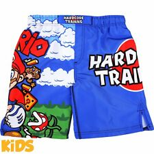 Kids Shorts Hardcore Training MMArio Niño Pantalones Cortos MMA Fitness