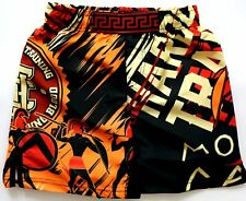 Kids Shorts Hardcore Training Sparta Black Niño Pantalones Cortos MMA Fitness
