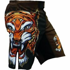 Shorts Hardcore Training Tiger Hombre Pantalones Cortos MMA Fitness