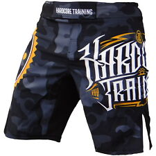 Shorts Hardcore Training Night Camo Hombre Pantalones Cortos MMA Fitness