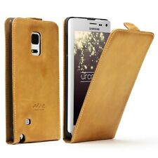 Akira Manufactura Cuero Genuino Funda Galaxy Note Edge Billetera Case Cover