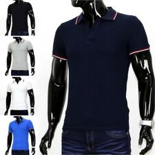 Polo Homme T-shirt polo polo stretch slim fit BASIC clubwear Chemise de2