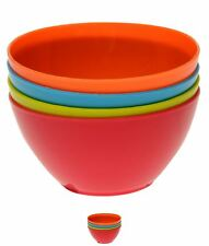 BRAND Stanford Home 4 Pack Plastic Bowls -