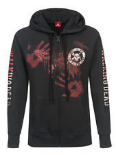 THE WALKING DEAD KILL OR DIE Donna Zip Felpa con cappuccio, Giacca cappuccio