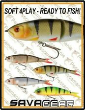 "Savage Gear ""SUAVE 4PLAY - LISTO A PESCADO!"" 13cm 22.5gr artificial spinning"