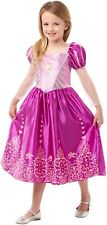 Girls Disney Princess Rapunzel Tangled Book Day Week Fancy Dress Costume Outfit