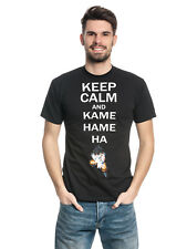 DRAGON BALL Z keep calm and Kamehameha hombre camiseta