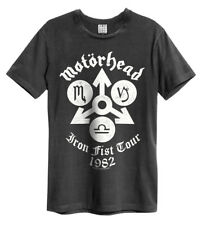 Motorhead' Iron Fist TOUR' T-SHIRT - Amplified Clothing - NUOVO E ORIGINALE