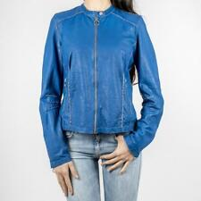 GIUBBINO DONNA FREAKY NATION PELLE BLUETTE GIACCA KELLY 315892 5054