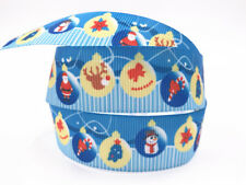 DIY 1-100 Yard 1''25MM bomb gift Printed Grosgrain Ribbon Hair Bow Sewing Ribbon