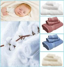 100% Organic Cotton Terry Bath Towels (3pc) - Present Ideas for Someone Special