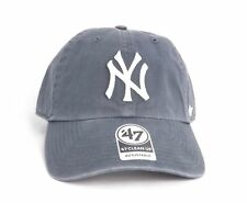 B-RGW17GWS-VN_Gorra 47 Brand – Mlb New York Yankees Clean Up Curved V Relax Fit