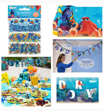 Disney finding nemo dory Birthday Party Decorations Table letter banner game