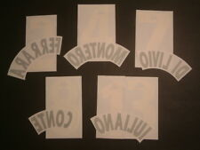 KIT NOME+NUMERO UFFICIALE JUVENTUS AWAY 1997-1998 OFFICIAL NAMESETS