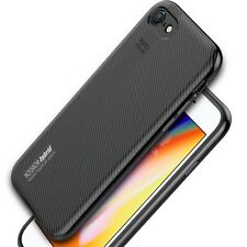 Cover + verre trempé Edge iPhone 8 Plus épaisse Silicone Robuste Noziroh Hybrid