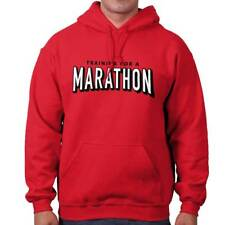 Netflix Training Marathon Funny Shirt Cool Gift Binge Watch Hooded Sweatshirt