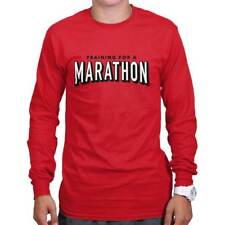 Netflix Training Marathon Funny Shirt Cool Gift Binge Watch Long Sleeve Tee