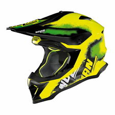 25% di sconto L NOLAN N53 LAZY BOY LED GIALLO OFF-ROAD CROSS MX Casco da moto