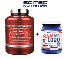 Scitec Nutrition 100% Whey Protein Professional 2350 g + RAM 500