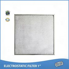 18x25x1 Lifetime Warranty Electrostatic AC Furnace Air Filter Permanent Washable