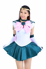 Sailor Moon Cosplay Costume Sailor Jupiter Kino Makoto Fighting Uniform Set V1