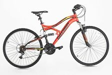 NEW Mountain Multi-suspension bike, 26 Inch, 17 Inch Frame, GREENWAY (RED)
