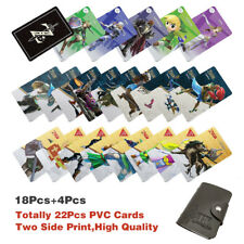 Champion 22PCS PVC NFC Tag Game Cards Zelda Breath of the Wild Link For Switch