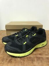UK 10 Umbro Arrow A Running Shoes Gym Trainers Black Yellow RRP £30 at £16.99