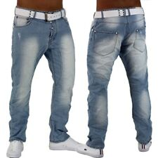 jeans pantaloni uomo celeste chino in denim slim fit boyfriend